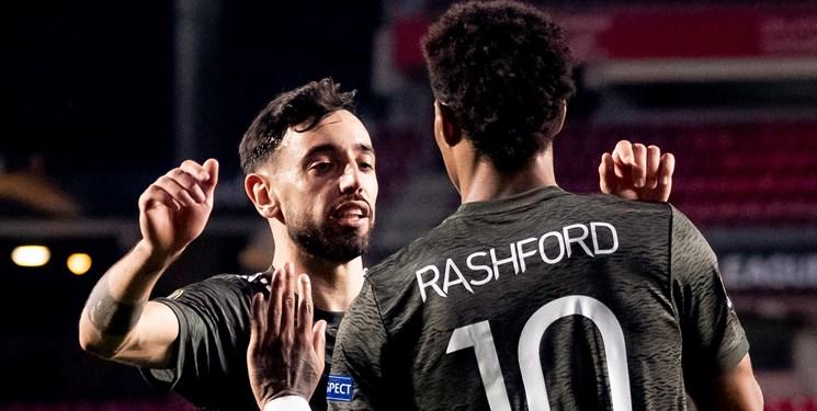 لیگ اروپا| برد منچستریونایتد در شب بازگشت رم در آمستردام / تساوی خانگی آرسنال مقابل نماینده چک