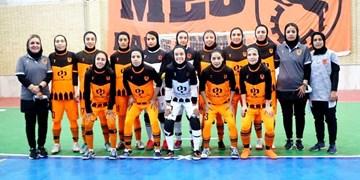 لیگ برتر فوتسال بانوان| برتری مس رفسنجان مقابل نفت آبادان