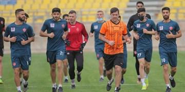 گزارش تمرین پرسپولیس| ریکاوری و مینی فوتبال سرخ پوشان در حضور سمیعی قبل از سفر به هند +تصاویر