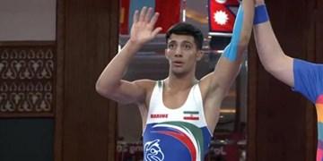 مدال طلای کشتی فرنگی  به کشتیگیر شیرازی رسید