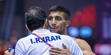 بازتاب موفقیت فرنگیکار ایران در سایت جهانی/گرایی: امیدوارم به طلای المپیک برسم