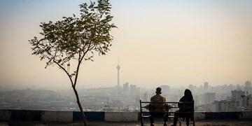 آلودگی هوای تهران در نخستین روزهای پاییز/ بیشترین دمای هوای پایتخت