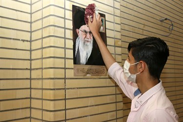 غبارروبی مساجد درآستانه ماه مهمانی خدا