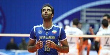 ملیپوش سابق والیبال سرمربی شهرداری ورامین شد