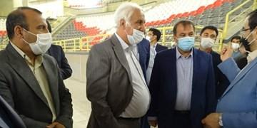 بهرهبرداری ازسالن ورزشی ۶ هزار نفره شیراز در خردادماه