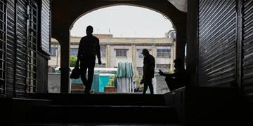 کرونا کرکرههای بازار تهران را پایین کشید