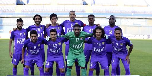 لیگ قهرمانان آسیا اعلام ترکیب العین امارات برای بازی با فولاد ایران