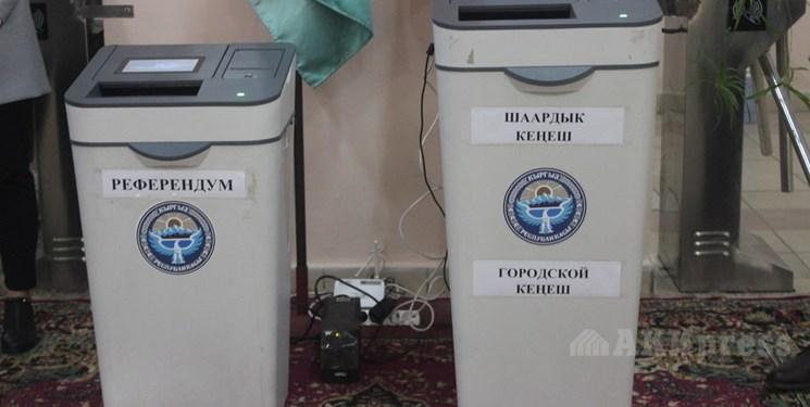 همهپرسی قانون اساسی در قرقیزستان به روایت تصویر