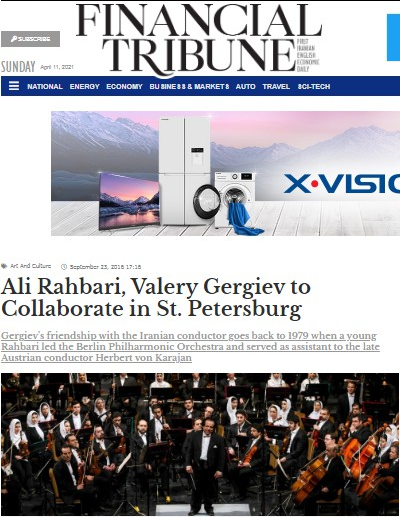 قبل از «ارکستر سمفونیک» و «ارکستر ملی» ما نیاز به «ارکستر سازهای ملی» داریم/من صرفا برای بهبود اوضاع ارکسترهای وطنم به ایران آمده بودم