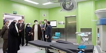 بیمارستان فوق تخصصی «عدل» با حضور رییس قوه قضاییه افتتاح شد
