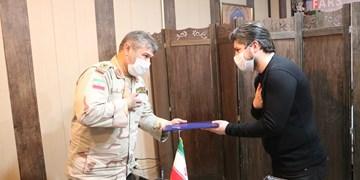 تقدیر «فرمانده مرزبانی» از خبرنگاران خبرگزاری فارس کرمانشاه