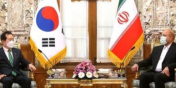 انتقاد قالیباف از نخستوزیر کره جنوبی/ رئیس مجلس: ذهنیت مردم ما نسبت به شما منفی است