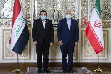 دیدار مشاور امنیت ملی عراق با ظریف