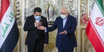 تأکید ظریف بر پیگیری پرونده ترور شهید سلیمانی و ابومهدی از سوی عراق
