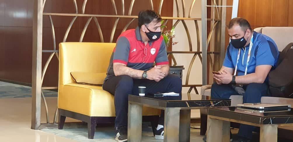 جلسه آذری با نماینده AFC برای تغییر زمین تمرین فولاد