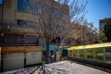 تعطیلی اصناف غیرضروری بازار تبریز