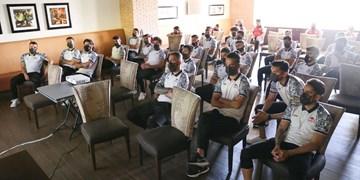 برگزاری جلسه فنی تیم  تراکتور در اردوی امارات