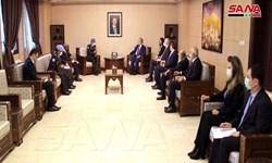 بررسی تجاوزات رژیم صهیونیستی در دیدار فرمانده نیروهای سازمان ملل با وزیر خارجه سوریه