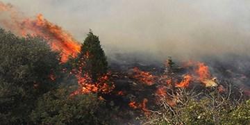 آتشی که به جان ارتفاعات هنگام قیروکارزین افتاد