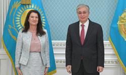 ملاقات رئیس سازمان امنیت و همکاری اروپا با رئیس جمهور قزاقستان