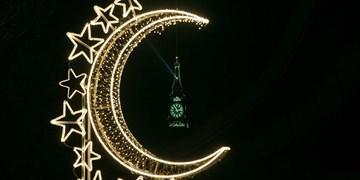 شب اول ماه رمضان در مسجدالحرام+عکس و فیلم