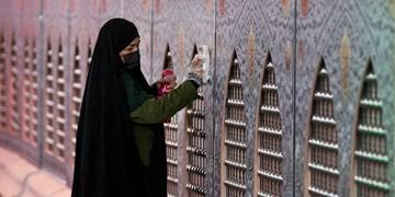 غبارروبی  در آستانه ماه مبارک رمضان
