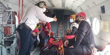 نجات جوان کوهنورد توسط جمعیت هلال احمر خراسان رضوی