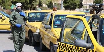 رانندگان تاکسی و ونهای درونشهری مسافر در حد مجاز سوار میکنند
