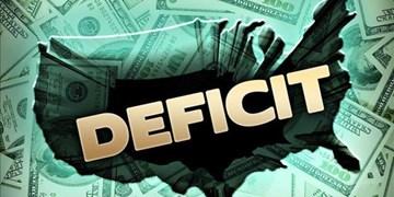 ادامه رکوردداری کسری بودجه آمریکا/ 1.7 تریلیون دلار فقط در 6 ماه