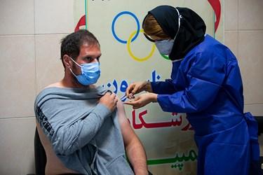 واکسیناسیون ورزشکاران کاروان المپیک ایران
