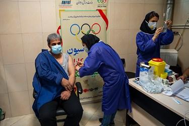 واکسیناسیون کاروان المپیک ایران