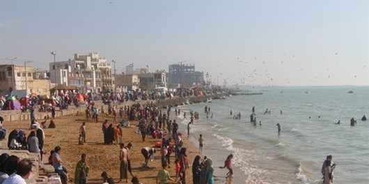 فیلم| بیخیال کرونا در بوشهر