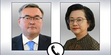 تماس تلفنی وزیر خارجه قزاقستان با معاون دبیرکل سازمان ملل متحد