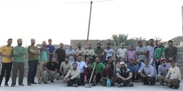 گروه جهادی راهیان شهادت در کنار محرومان/ ساخت  ۲ مدرسه در سیستان و بلوچستان