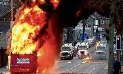 از سرگیری دوباره خشونت های سیاسی در ایرلند شمالی