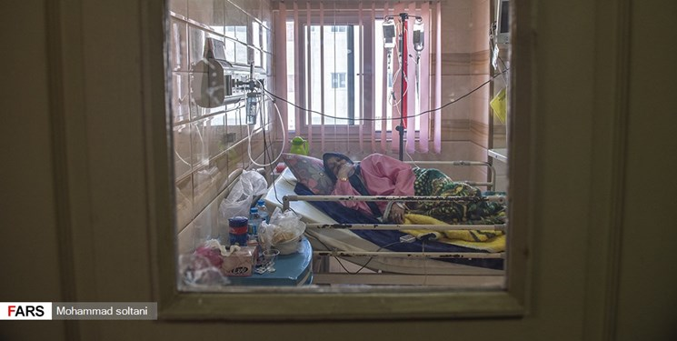 بستری بودن حدود ۱۸۰۰ بیمار کرونایی در مازندران