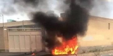 سقوط پهپاد آزمایشی در شاهینشهر