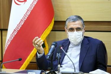غلامحسین اسماعیلی سخنگوی قوه قضاییه در مراسم رونمایی از سامانه حمایت از خانواده زندانیان