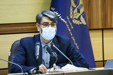 محمد مهدی حاج محمدی رئیس سازمان زندانها در مراسم رونمایی از سامانه حمایت از خانواده زندانیان