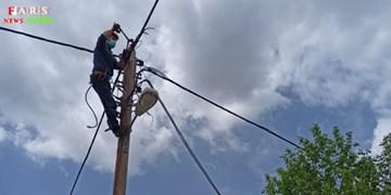 ۱۸۰  کیلومتر شبکه سیمی قروه به کابل خودنگهدار تبدیل میشود