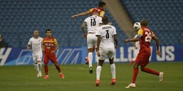 توقف فولاد محتاط در نیمه اول بازی با النصر عربستان