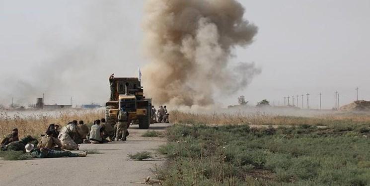 کاروان ائتلاف آمریکایی در عراق هدف حمله قرار گرفت