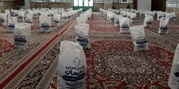 1000 بسته معیشتی بین خانواده زندانیان گلستانی توزیع شد