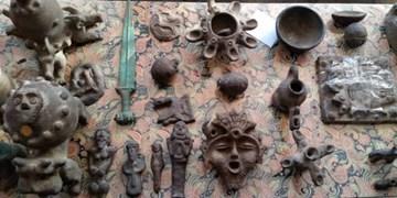 کشف ۲۵۴ قلم اشیای تاریخی در استان فارس