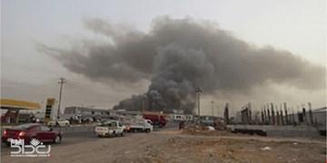 انفجار در کارخانه تولید آهن سلیمانیه عراق