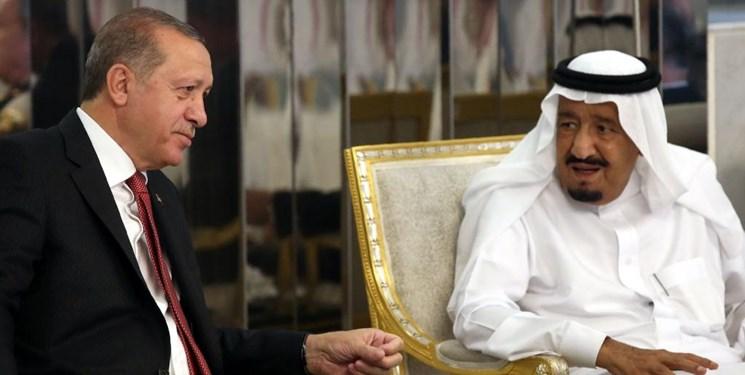 گفتوگوی تلفنی رئیس جمهور ترکیه و شاه سعودی