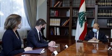 میشل عون: برای ترسیم مرزها، در حفظ منافع لبنان کوتاهی نمیکنیم