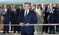 افتتاح ساختمان جدید کنگره ترکمنستان با حضور «بردی محمداف»