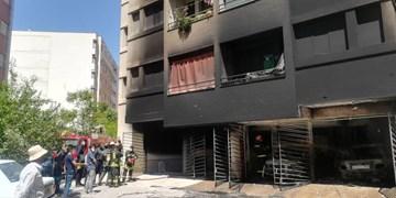 آتشسوزی در خیابان پاییز شیراز/ حریق بهطور کامل مهار شد