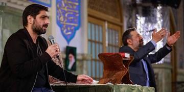 مناجاتخوانی کریمی و بنیفاطمه در حرم امام رضا +صوت